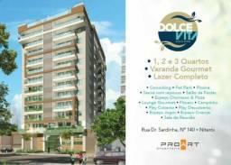 Dolce Vita - Apartamentos de 1, 2 e 3 quartos, com suíte e vaga em Santa Rosa