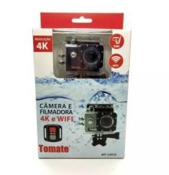 Câmera Filmadora Esporte 4k Wifi Youtube Tomate Mt1091