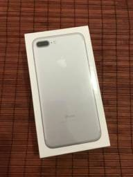 IPhone 7 Plus 32gb Silver + Nota Fiscal - Novo Lacrado
