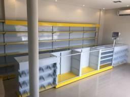 Balcão para Farmácia? Lojas Center Aço!!!!