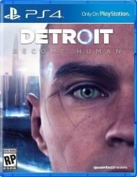 Troco Jogo Exclusivo para PS4 Detroit Become Human