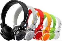 Fone Bluetooth Headphone sem fio na Caixa exelente graves!