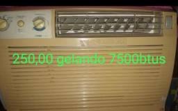 Ar condicionado tipo janela 7500 btus
