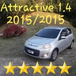 Fiat Palio Attractive 1.4 Evo 2015 / 2015 (Aceita troca menor valor) - 2015