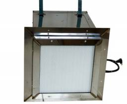 Sistema Pressurizador Para Sala Limpa - Tratamento De Ar