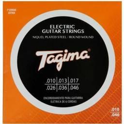 Encordoamento Guitarra Tagima 0.10