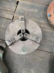 Placa universal de 10 polegadas para torno mecânico