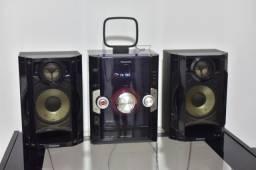 Som Mini System Panasonic akx10 - 250 watts rms