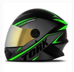 Capacete R8 Verde 58