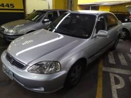 Honda Civic Sedan LX 1.6 Automático 99 Completo!!
