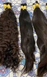 Vendo lote de cabelos para Mega Hair