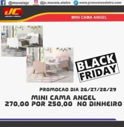 Mini cama Angel promoção  black Friday