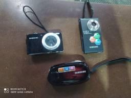 3 câmeras e filmadoras Samsung!