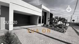 Linda casa em condomínio fechado com 3 dormitórios à venda, 204 m² por R$ 629.000 - Reside