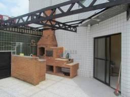 Cobertura com 4 dormitórios para alugar, 190 m² por R$ 4.500/mês - Canto do Forte - Praia