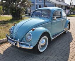 VW Fusca 1200 ano 1962 absolutamente impecável