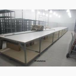 Mesa de corte 5,40 m comprimento x 1,75 largura