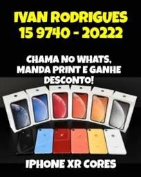 IPhone XR, Coral, Red,Branco e Azul CUBRO CONCORRENTES