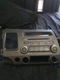 Rádio Cd/mp3 player Original Honda civic 2007/2008