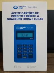 Máquina de cartão de crédito e débito Point Mini do Mercado Pago