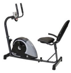 Bicicleta ergométrica horizontal Dream Fitness MAG 5000H. Aceito cartão