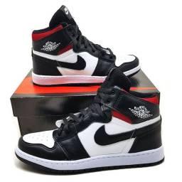 Air jordan 1 retrô preto e branco