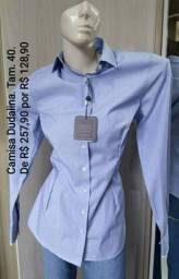 Camisa Dudalina, Tam. 40 (nova)