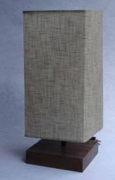 Luminária Rústica de Mesa - Cód 2000