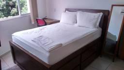 Alugo apartamento finamente mobiliado em copacabana - quarto e sala na Rua Barata Ribeiro