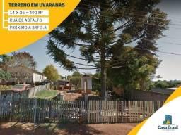 Terreno a venda em Ponta Grossa, Uvaranas