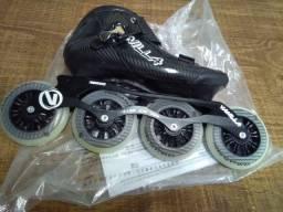 Vanilla de velocidade 4 rodas 100mm