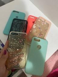 Vendo capinhas iphone 7 plus usadas