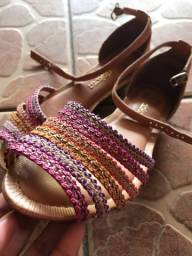 Sandália rasteirinha Dakota colorida