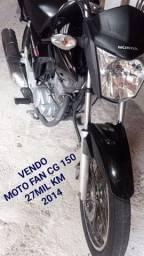 Moto Fan CG 150 2014