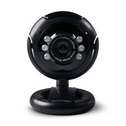 Webcam Multilaser Preta - WC045