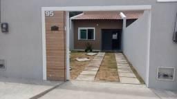 SI - Casa nova 2 quartos, sala, coz, garagem, escritura grátis