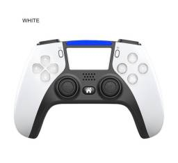 Controle De Vídeo Game Controller Joystick Para Ps4 / Pc / Celular Android Bluetooth