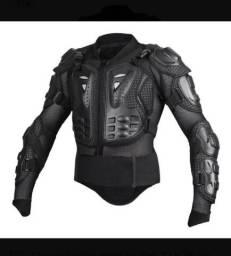 Colete De Proteção, Armadura Esqueleto, Jaqueta P/ Motociclisat