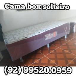 Cama box solteiro  disponível, entrega em toda Manaus