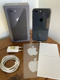 iphone 8 Plus Black 128GB impecável