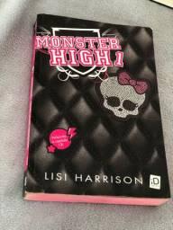 monster high primeiro livro