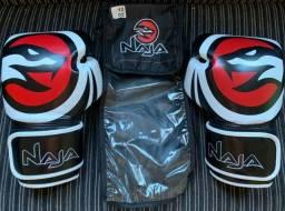 Título do anúncio: Kit Boxe Muay Thai Luva 12 Oz- Naja Original