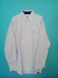 Título do anúncio: Camisa Masculina - Marca: Harmont & Blaine, Made In Italy, Original - Tamanho: 44 (Usada)