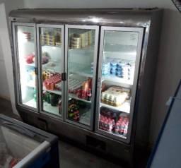 Refrigerador auto-serviço