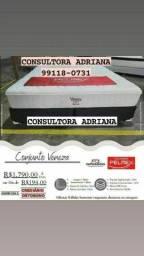 Título do anúncio: Cama cojunto veneza- pelmex
