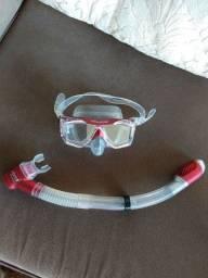 Máscara de mergulho e snorkel Seasub