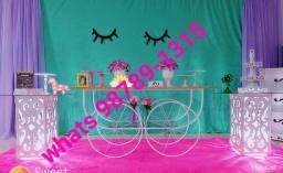 Mesa carroça festa md aluguel recife
