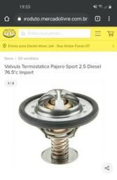 Válvula termostática Pajero Sport, L200