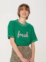 Blusa Feminina Box - Verde (Tamanho M)(Nova)
