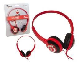 Título do anúncio: Fone De Ouvido Com Microfone Para Celular E Pc Knup Kp-393